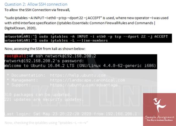 Assignment Help on Ubuntu