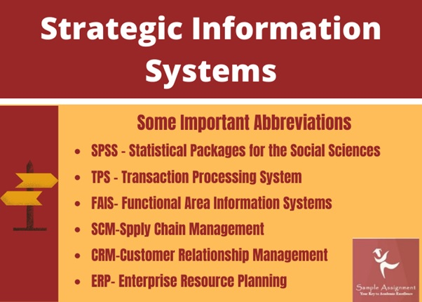 HI5019 strategic information systems assignment help