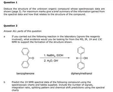 Organic Chemistry Assignment Experts