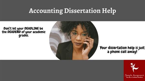 accounting dissertation help