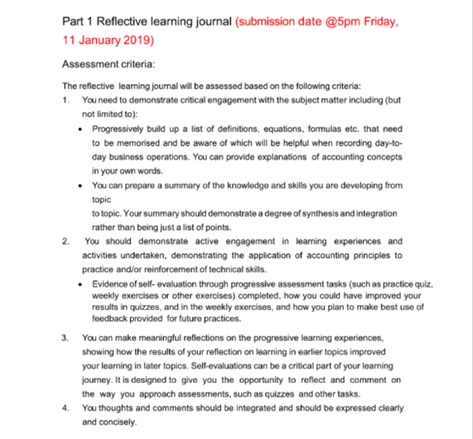 accounting dissertation question sample