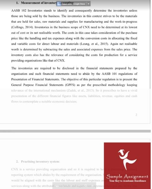 accounting dissertation sample