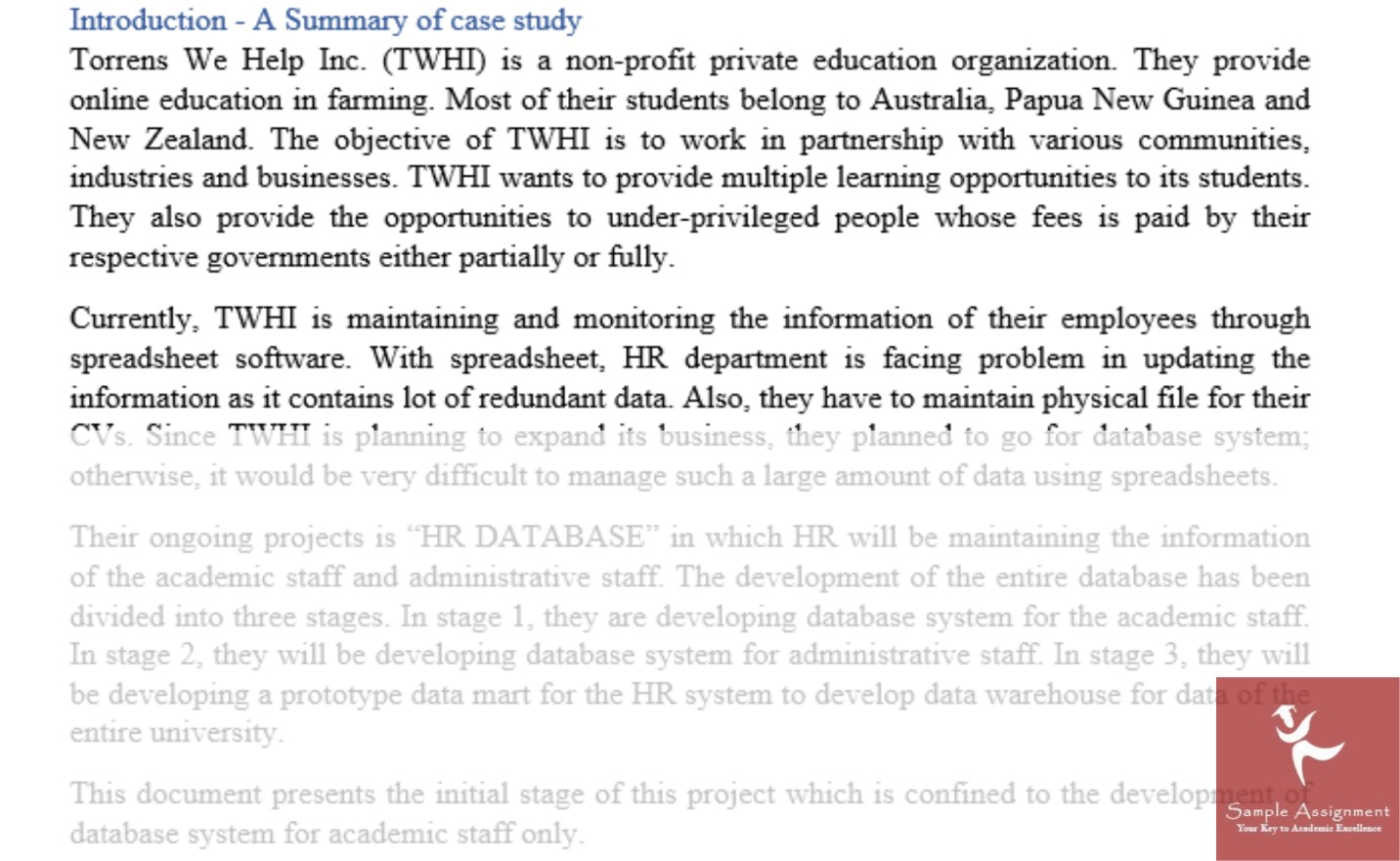 accounting information systems assignment solution