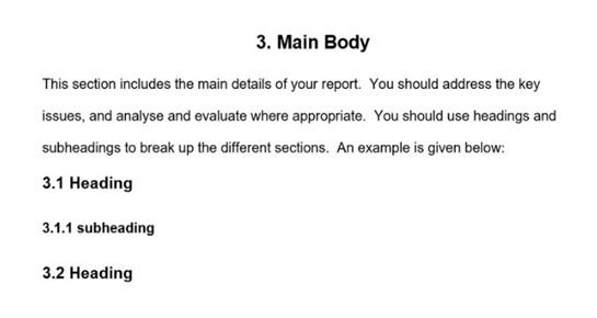 assignment format geelong
