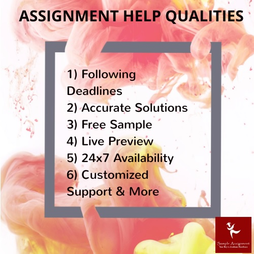 assignment help qualities