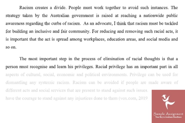 assignment on social justice essay