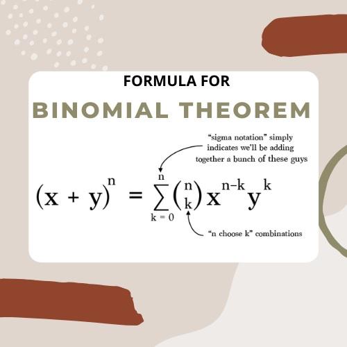 binomial theorem assignment help
