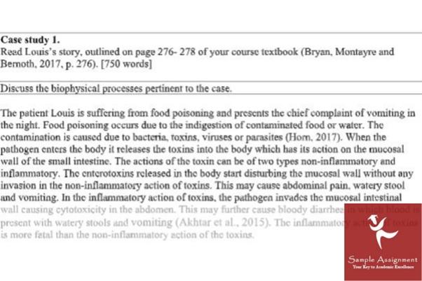 biophysics assignment sample