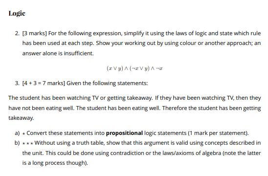 Boolean Algebra Assignment Help