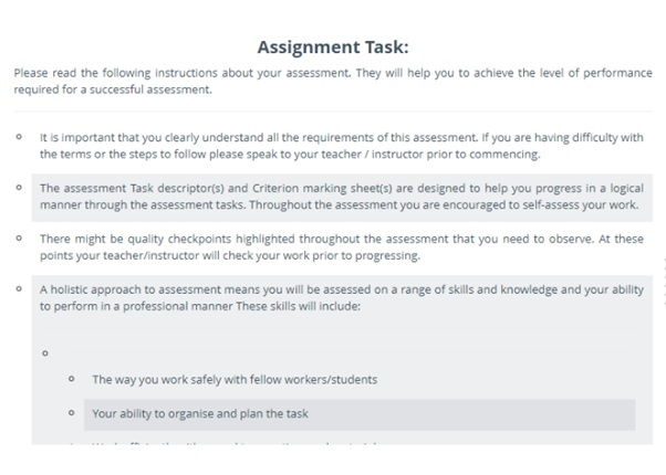 chcece004 assignment question