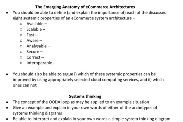 cloud computing architecture assignment sample