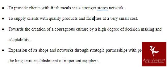 coles supermarket case study example