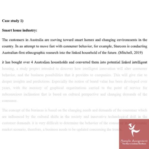 consumer behaviour marketing case study solution