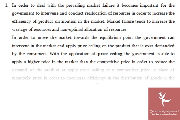 Consumer Surplus Assignment Solution
