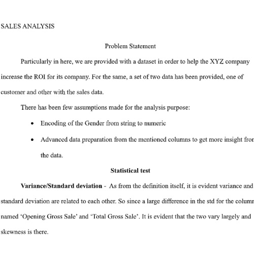 Correlation Analysis Assignment Help