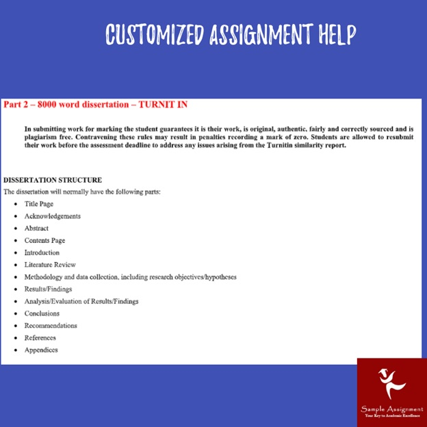 customized assignment help