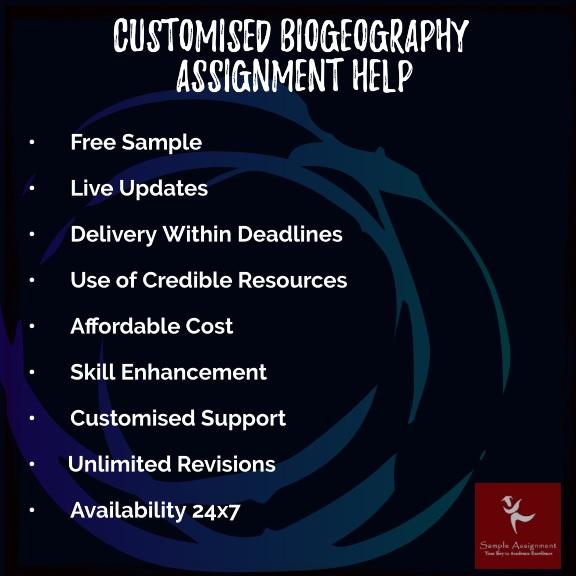 biogeography assignment help online