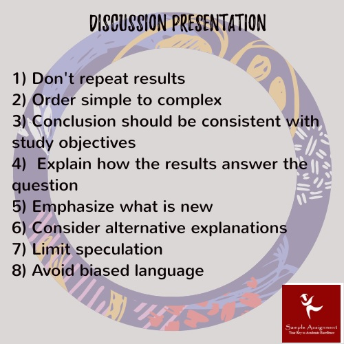 discussion presentation