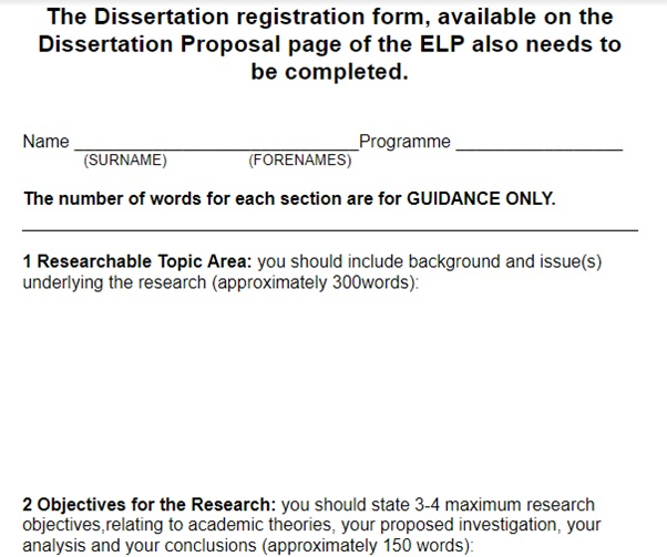 dissertation assistance question
