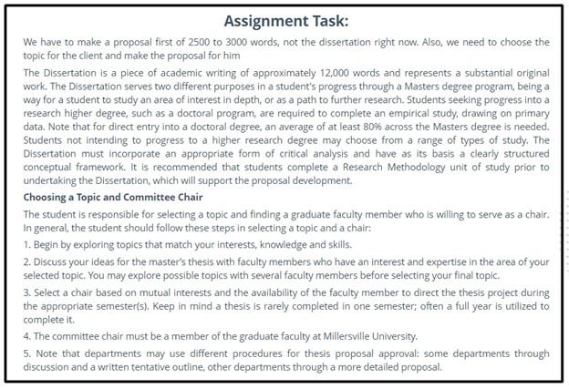 dissertation conclusion question