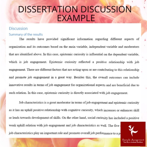 dissertation discussion example