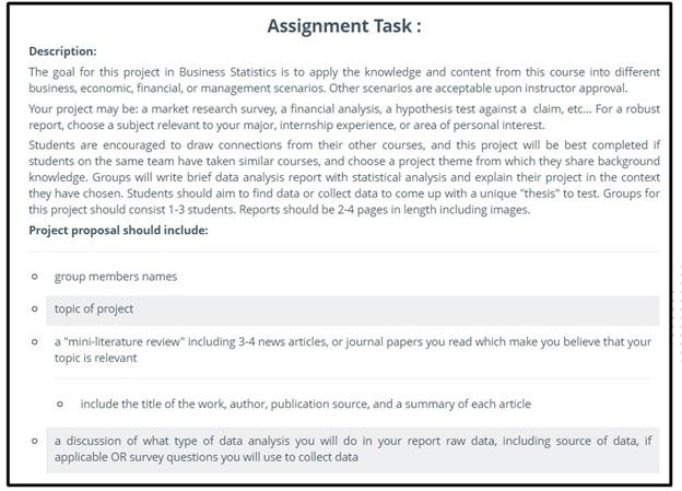 dissertation statistics assignment question