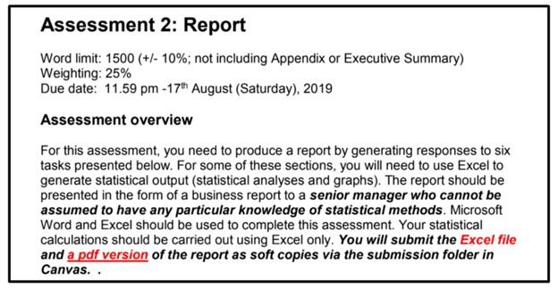 dissertation statistics report