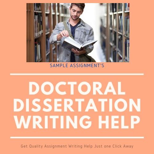 doctoral dissertations help