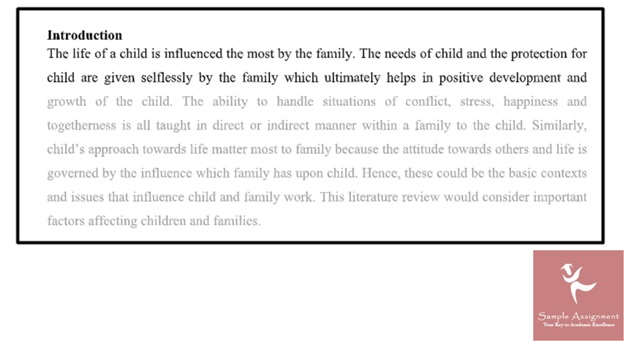 domestic violence assignment sample