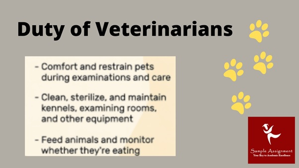 duty of veterinarians