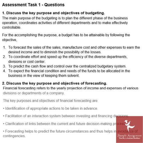 economics forecasting assignment question sample