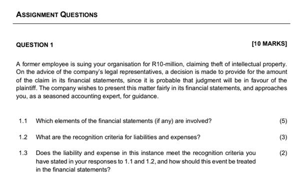 financial management assignment experts