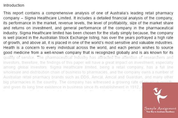 financial risk analysis
