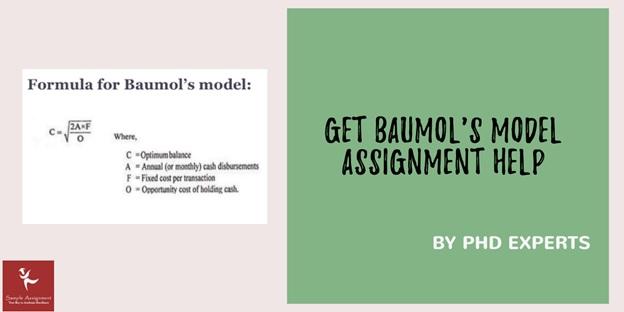 formula for baumols model