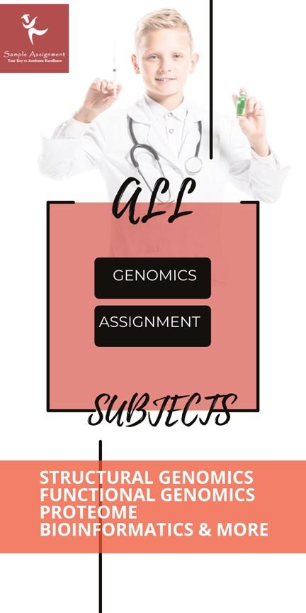 genomics assignment experts