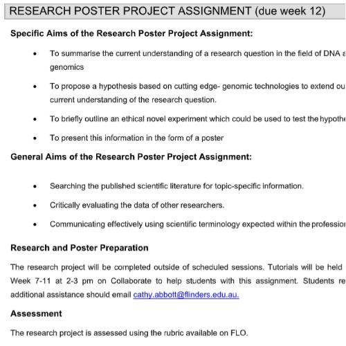 genomics assignment