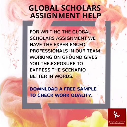 global scholars assignment help