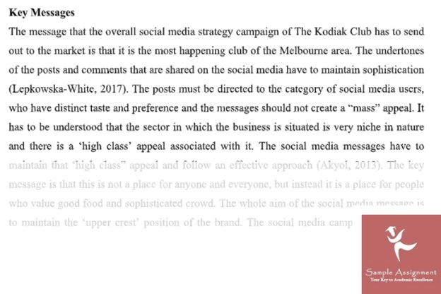 help with social media assignment