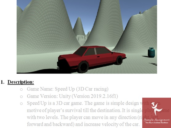 help with unity 3D assignment