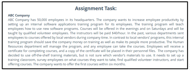human resources strategic assignment sample
