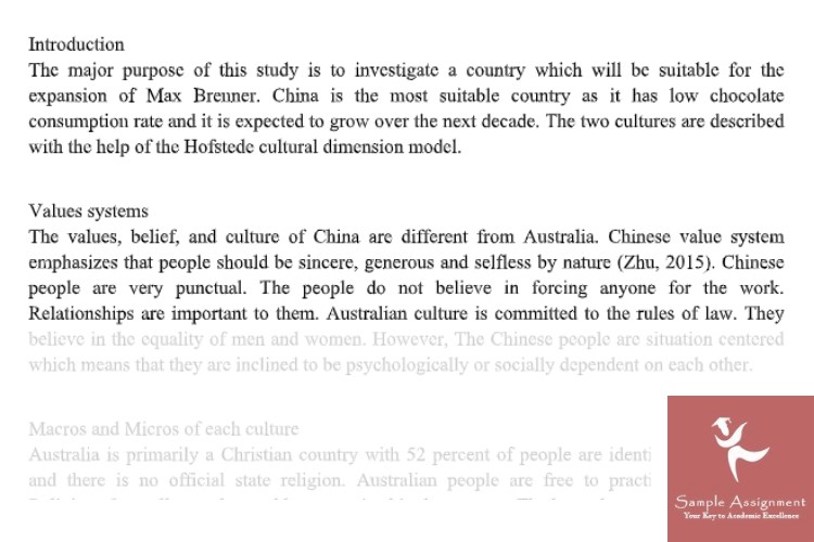 intercultural studies assignment help
