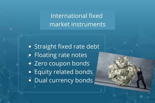 international fixed market instruments