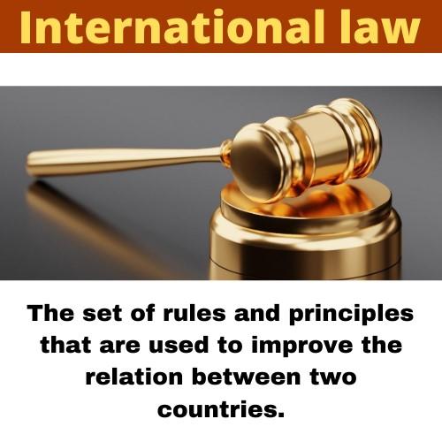 international law assignment help
