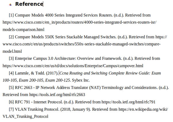 it assignment sample reference