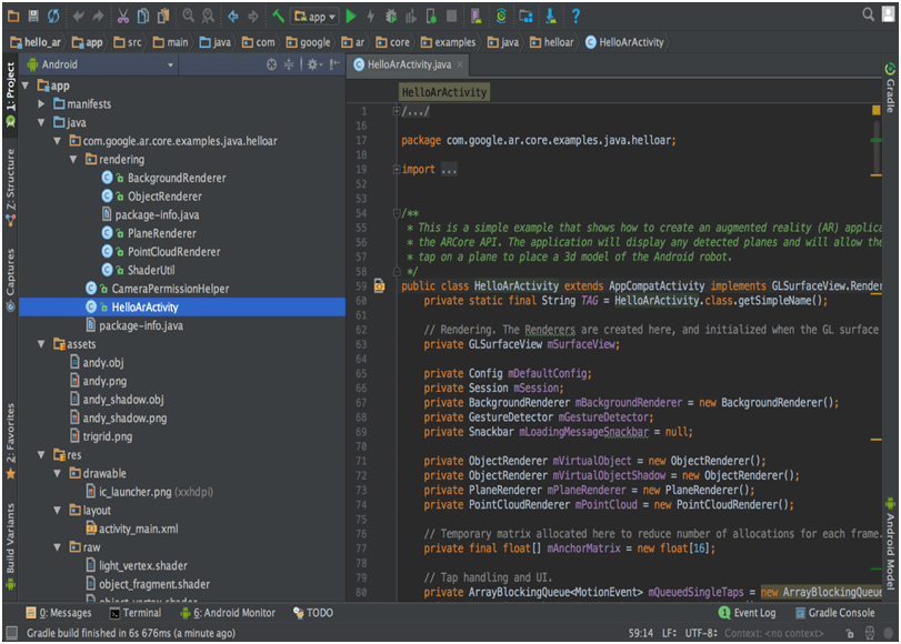 Android Studio assignment help