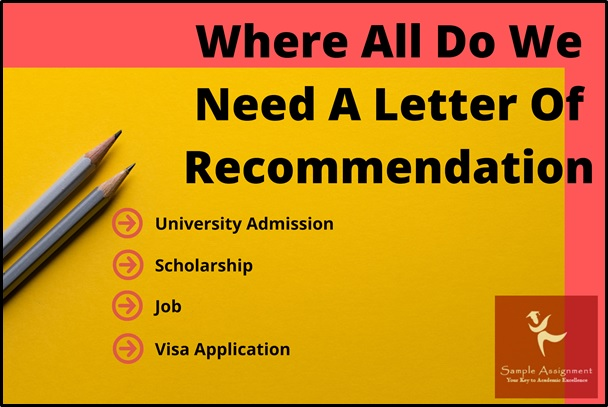 letter of recommendation writing services