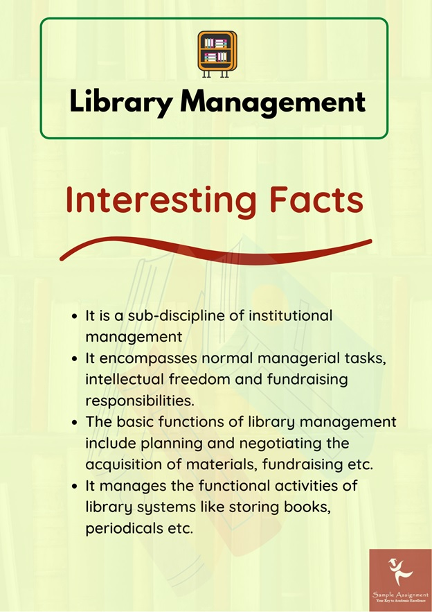 library management assignment help