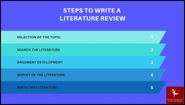 literature review writing steps