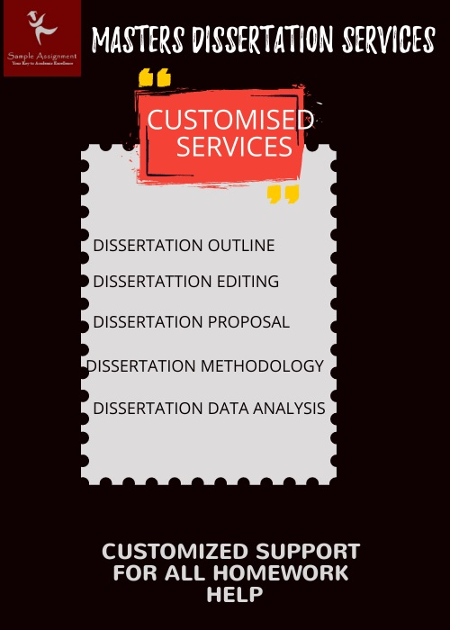 masters dissertation services