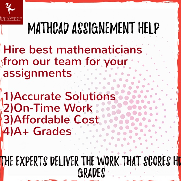 mathcad assignment help online